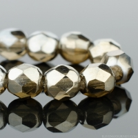 Round Faceted (4mm)