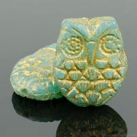 Horned Owl (18x15mm)