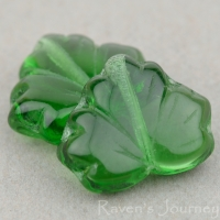 Maple Leaf (13x11mm) Tourmaline Transparent