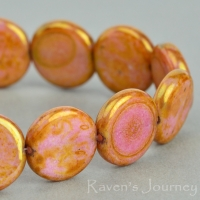 Coin (12mm) Goldstone
