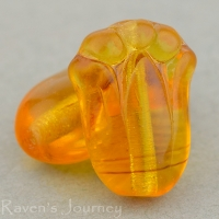Tulip (12x8mm) Amber Transparent